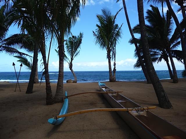 Beachscape in Paia, Maui, HI