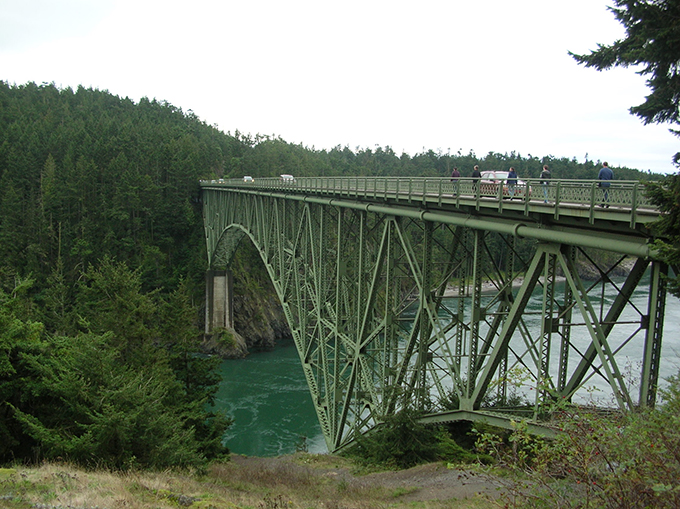 An Engineering Feat Complements Scenic Deception Pass