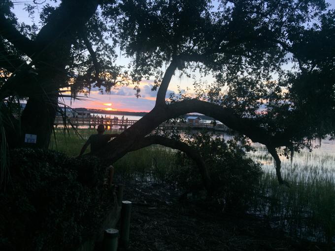 Sunset at Skull Creek