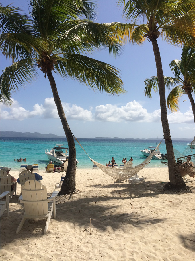 Relaxing in the BVI