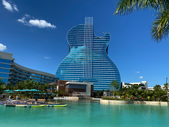 The Guitar Hotel Pool