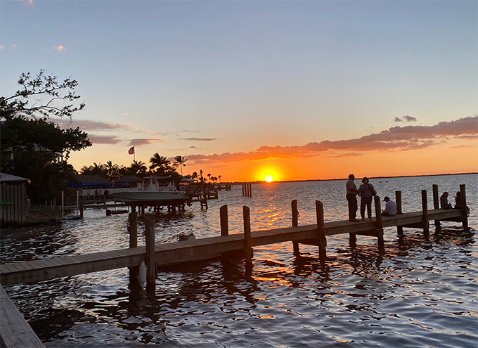 Observing Golden Hour in The Keys