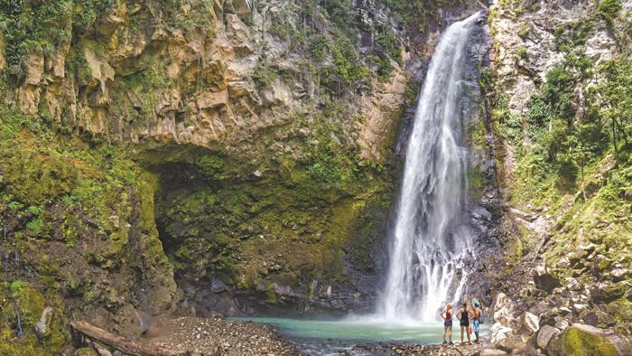 Victoria Falls on Dominica