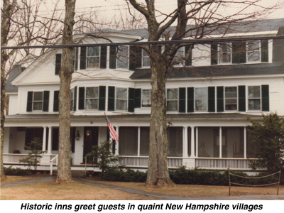 New Hampshire Group Accommodations